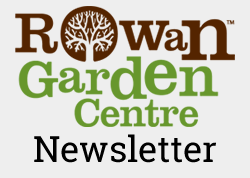 Sign up for the monthly gardening newsletter from Rowan Garden Centre